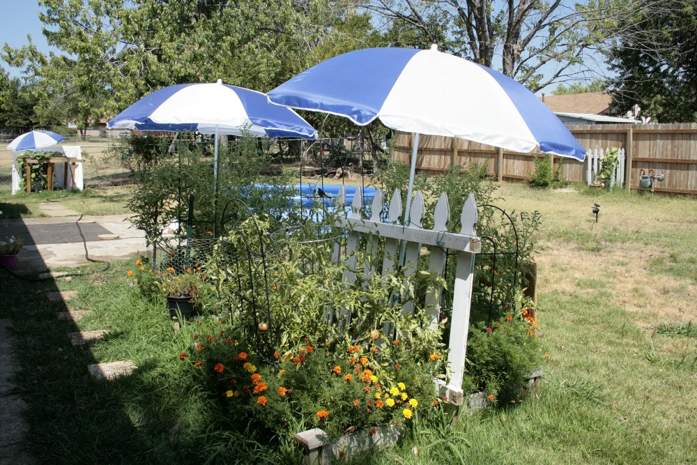 umbrella garden shade
