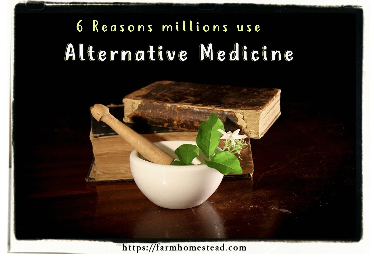 one reason people use alternative medicine is because they trust it