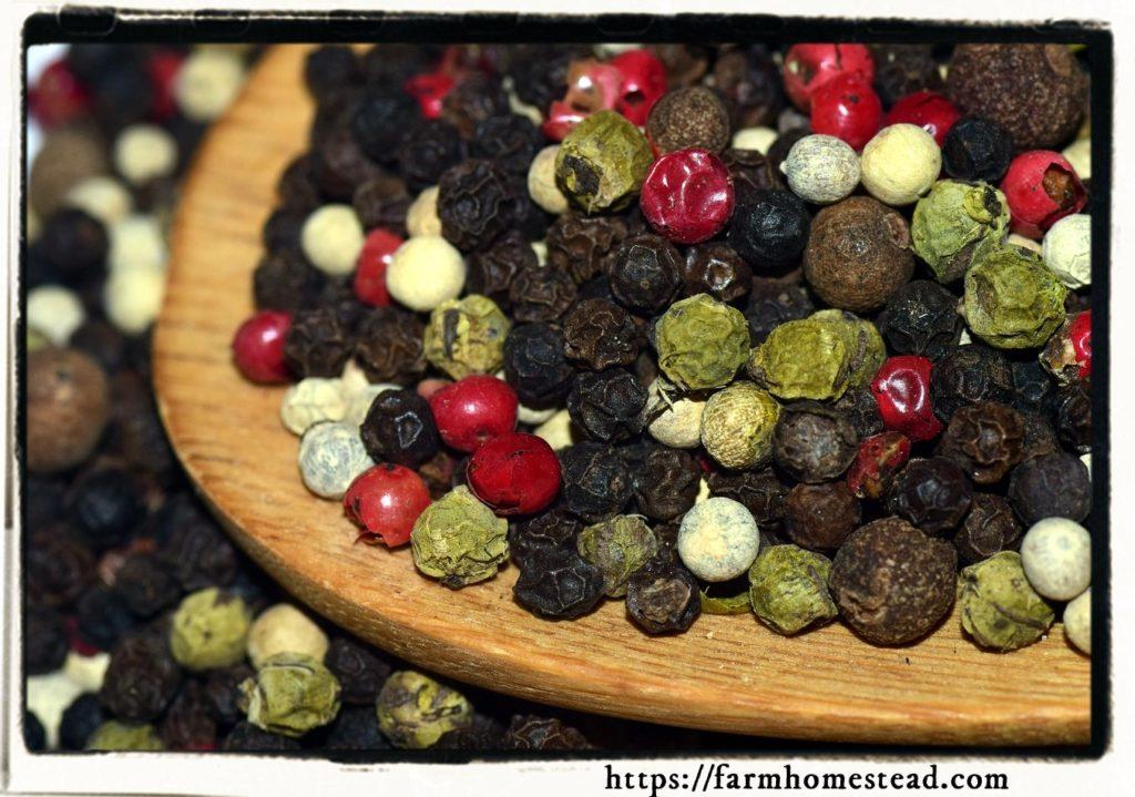 black pepper pesticide