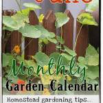 Garden Calendar for June 2020