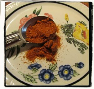 freshly ground cayenne pepper from BushyHead Botanicals