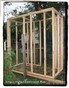 chicken coop frame
