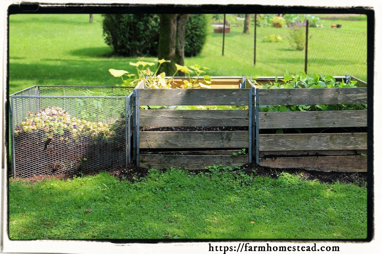 3 stage compost bin