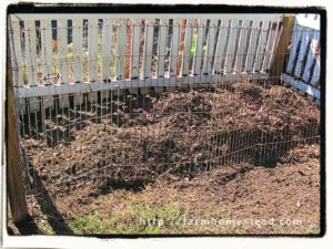 clean garden ready compost