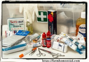 sisaster preparedness first aid kit