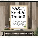 Herbal Glossary