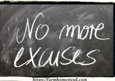Excuses Won't Help You Reach Your Goals