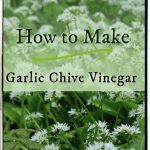 Garlic Chive Vinegar